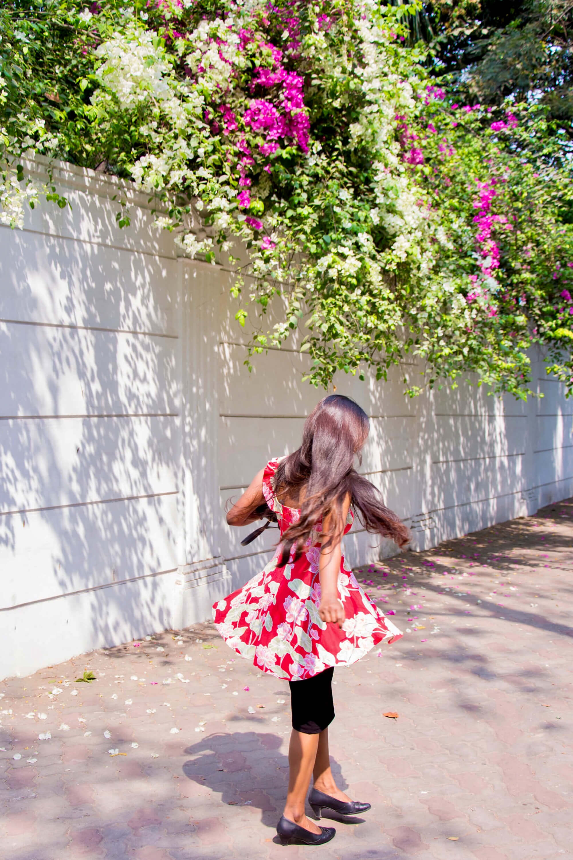 spring sunshine : Ruffle Mini Dress