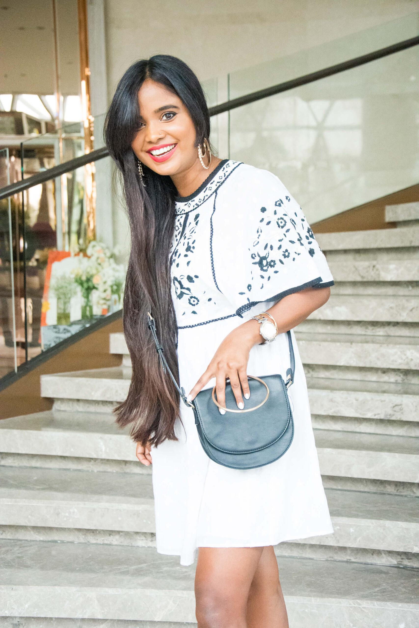 Best flowy white summer dress from Zara